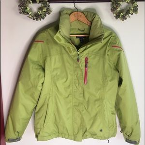 Lands' End Jackets & Coats - Lands' End winter coat with matching hat